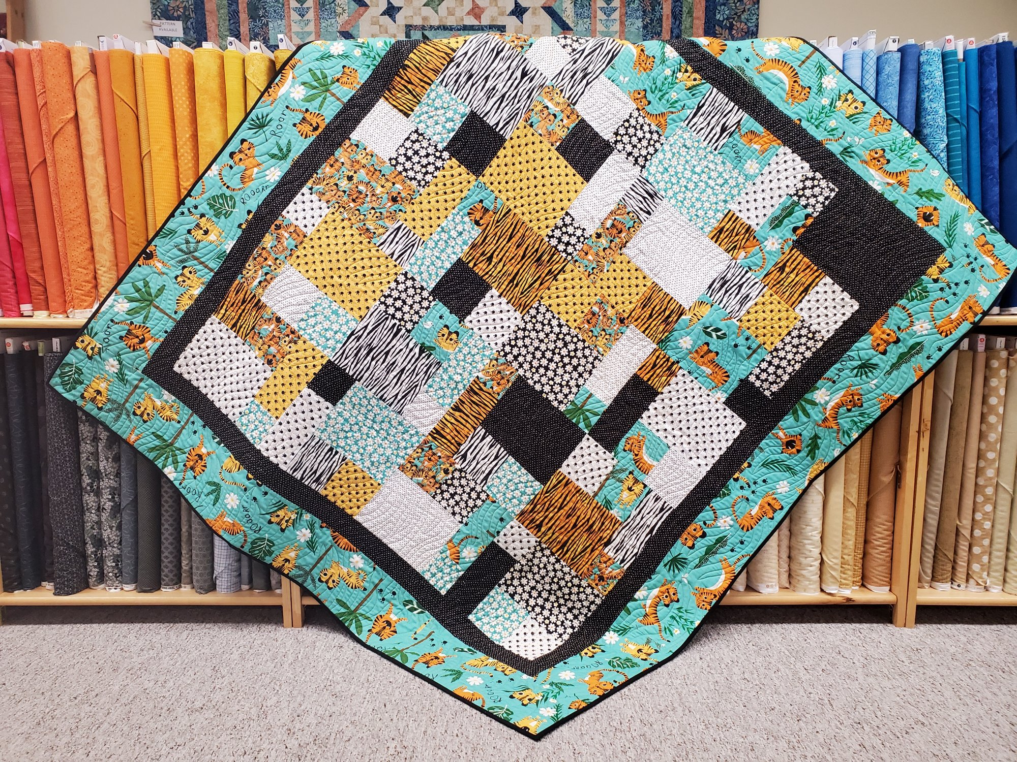 Snappy Quilt Kit 60 x 66