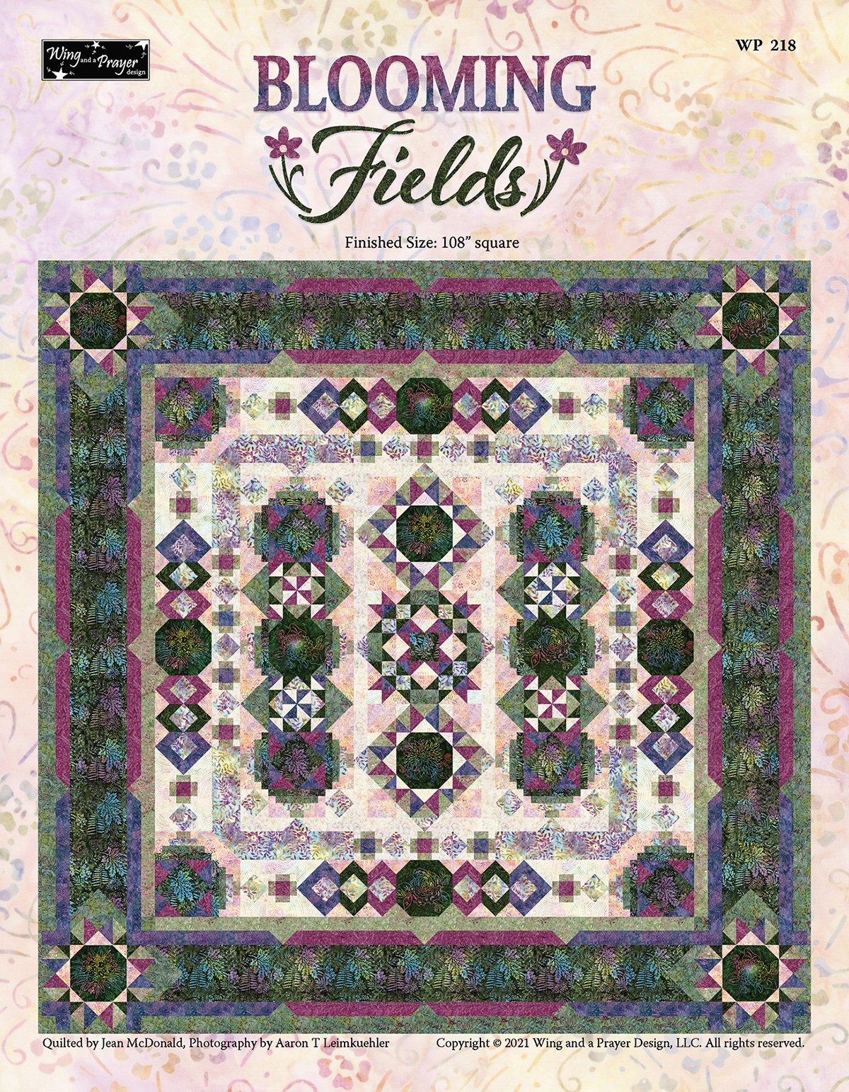Blooming Fields Quilt Kit Registration