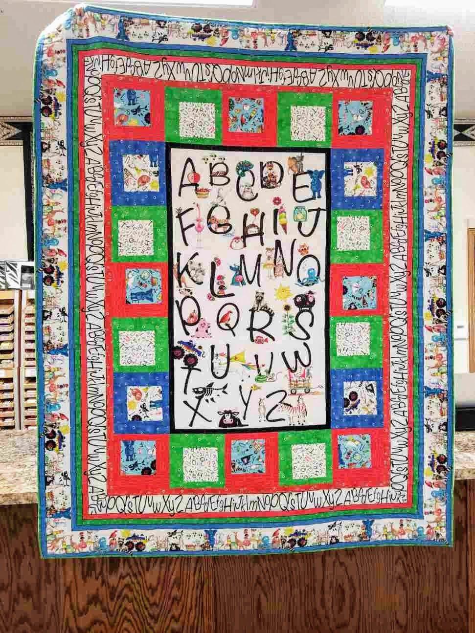 A-Z Alphabet Quilt Kit
