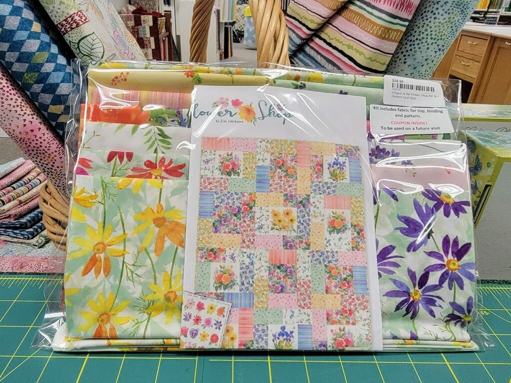 Intrigue at the Flower Shop Kit 56 x 72