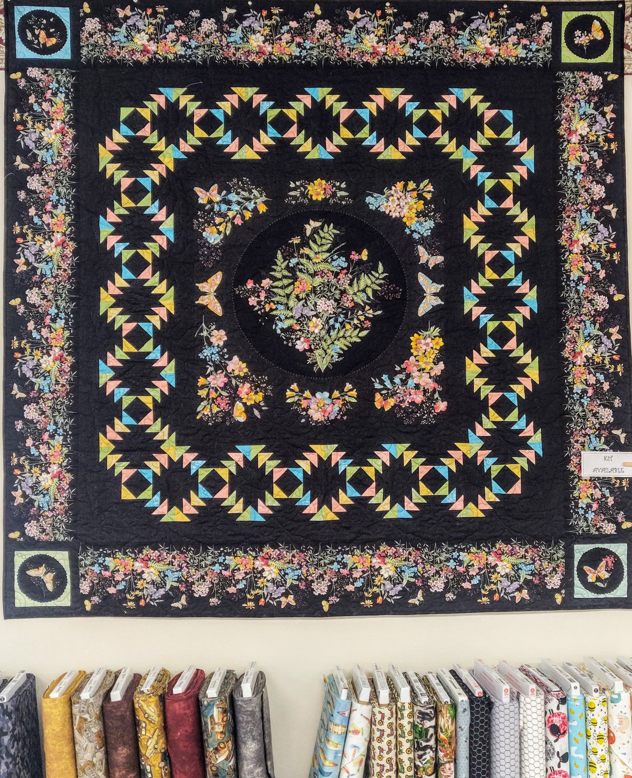 Meadow Edge Butterfly Garden Kit, 64in x 64in