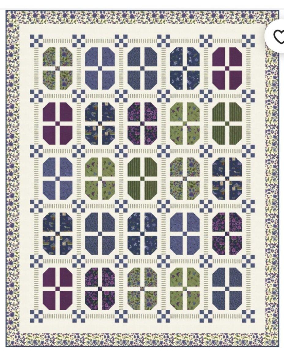 Garden Tour Kit-Violet Hill 64x79