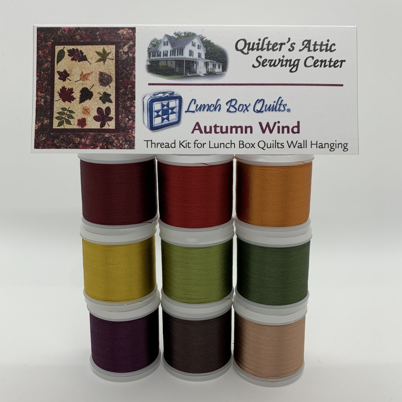 Autumn Wind Rayon Thread Kit