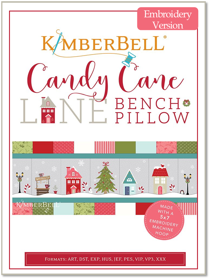 Candy Cane Lane Embroidery CD