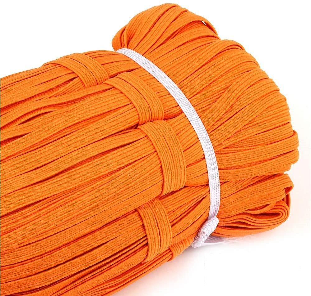 Elastic 1/4 Flat Orange