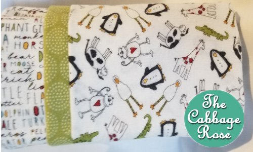 Pillowcase kit - Animal Crackers White