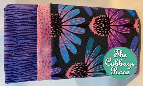 Pillowcase kit - Echinacea Dark