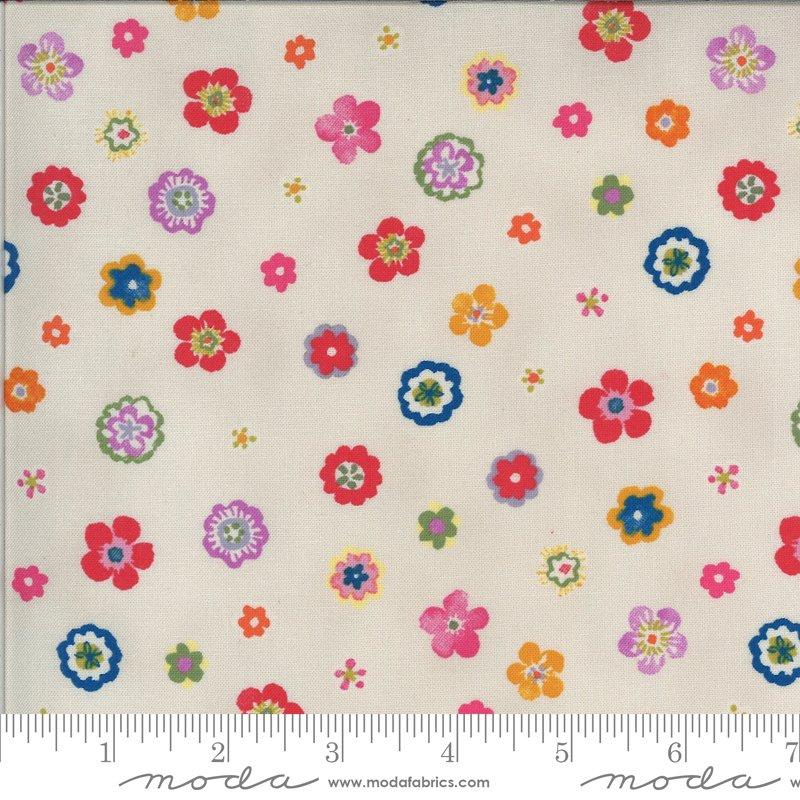Lulu - Flowers - Linen