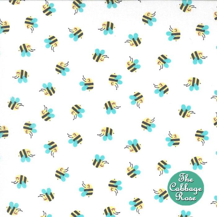 Hello Sunshine Bees - White