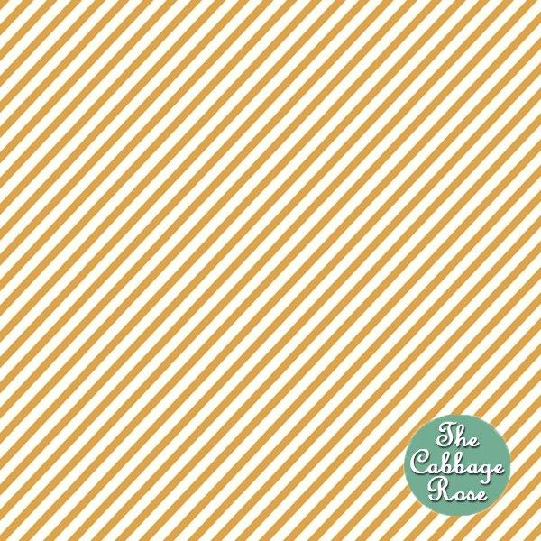 Diagonal Stripe - Brown