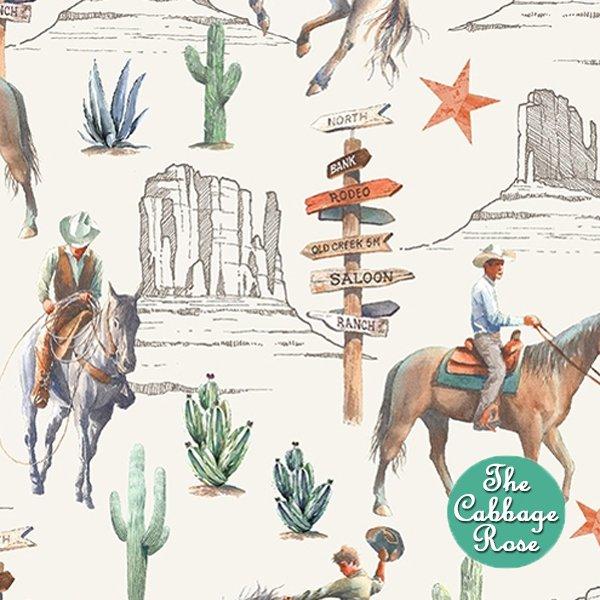Desert Cowboy - Cowboys White