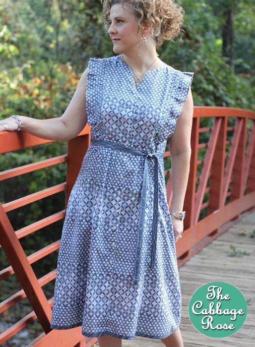 Erin Shirtdress Pattern