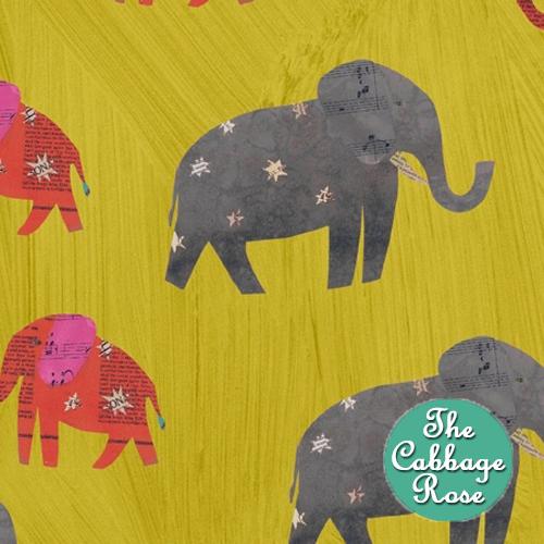 Starry Elephant Olive