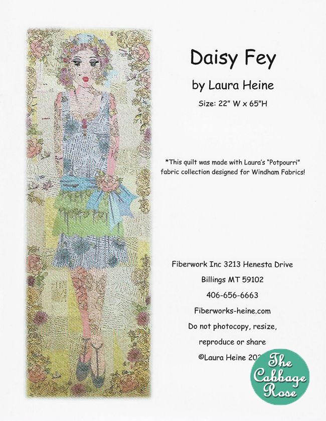 Daisy Fey Collage Pattern