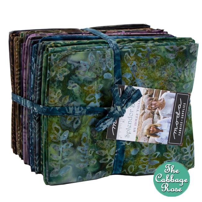 Splendor Batiks Fat Quarter Bundle