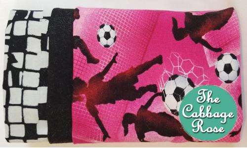 Pillowcase kit - Girl Soccer Pink