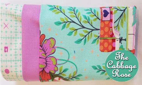 Pillowcase kit - Sewing Machine Turquoise
