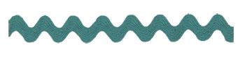 Trim Trends Ric Rac 1 3/8 Aqua