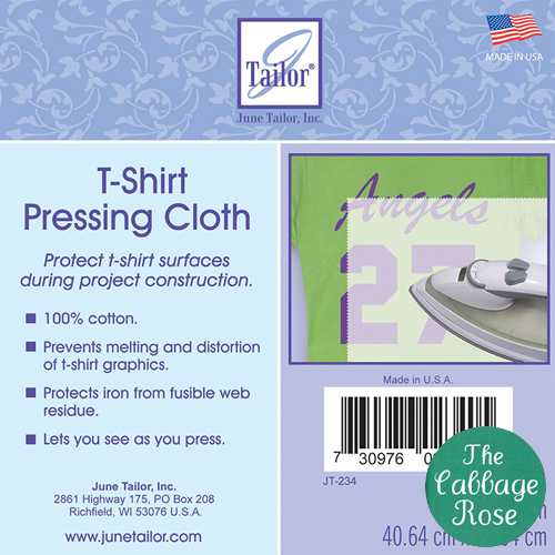 June Tailor T-Shirt Pressing Cloth - 16 x 16