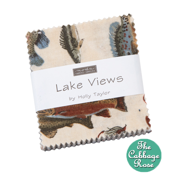 Lake View Mini Charm