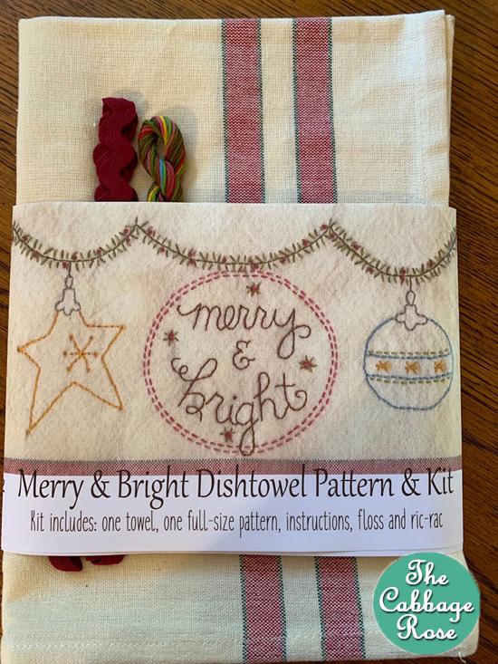 Merry & Bright Dishtowel Pattern Kit