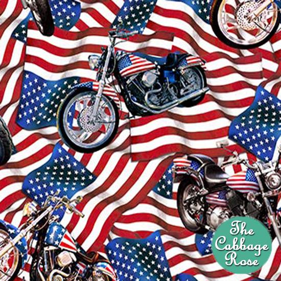 Bikes on Flag