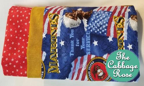 Pillowcase kit - Marines Thank You