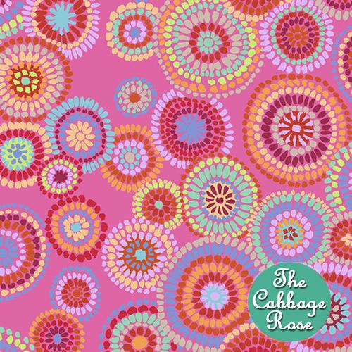 Mosaic Circles Pink