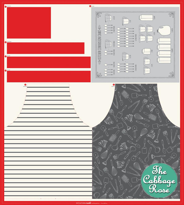 Apron Tea Towel Panel