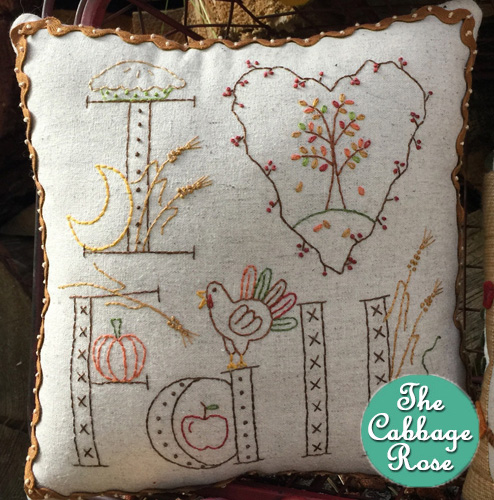 I Love Fall Little Pillow Kit