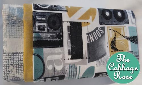 Pillowcase kit - Music and Print