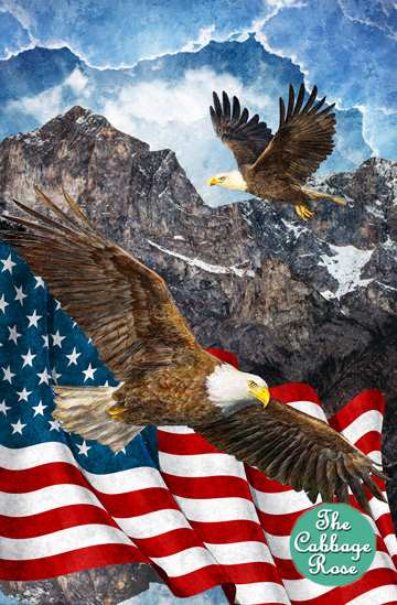Eagle & Flag Panel