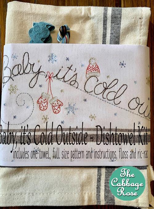 Baby, It?s Cold Outside Dishtowel Kit