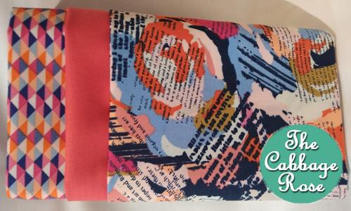 Pillowcase kit - Floral Words