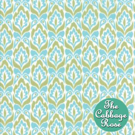 Tapestry Aqua Lime