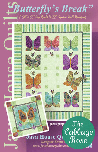 Java House Quilts - Butterfly?s Break