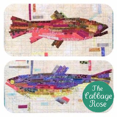 Making Fish Collage Patterns