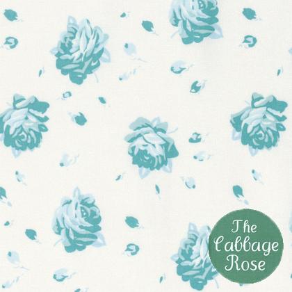 Falling Rose Teal