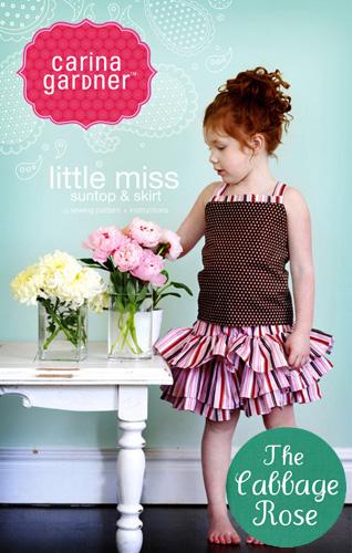 Carina Gardner - Little Miss Suntop & Skirt