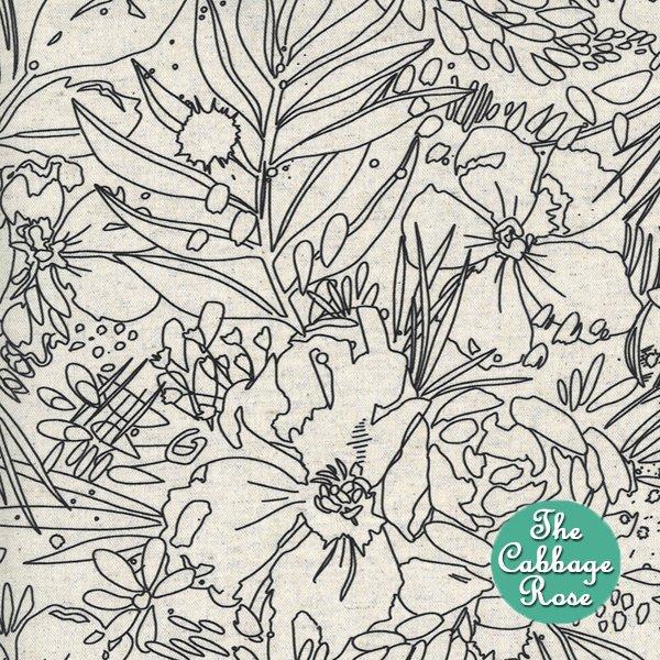 Moody Bloom Mochi Linen Natural