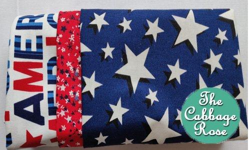 Pillowcase kit - American Stars