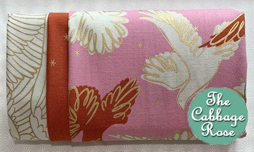 Pillowcase kit - Birds on Pink
