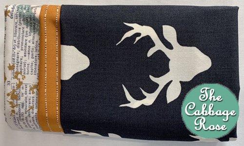 Pillowcase kit - Deer W/ Gold Band