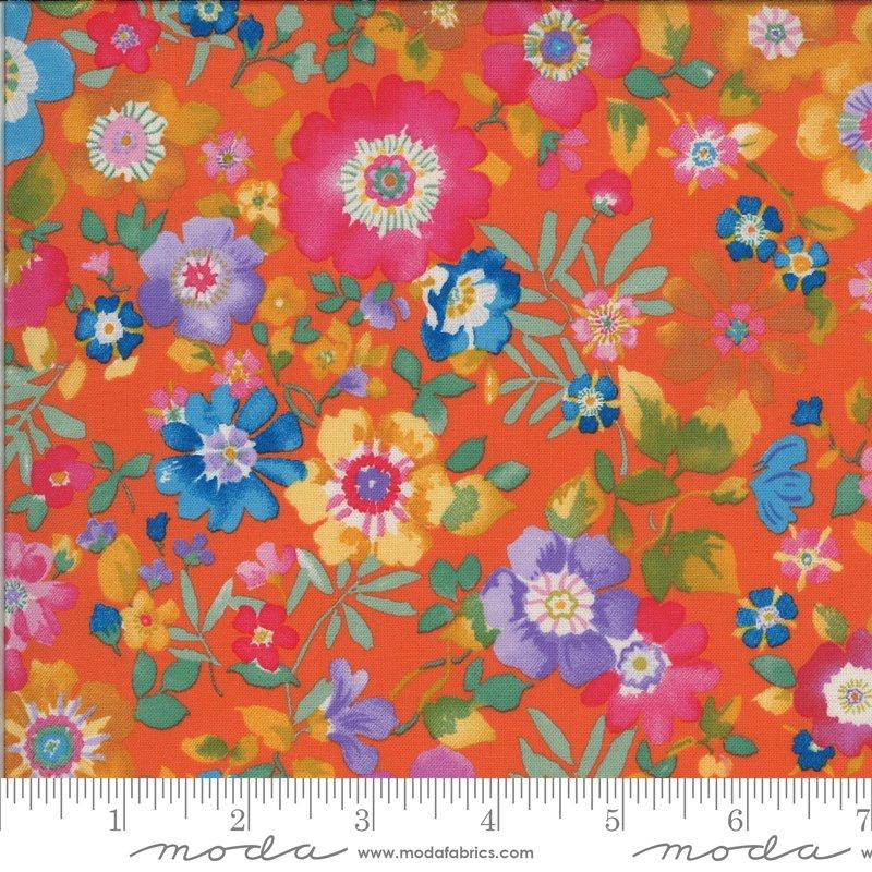 Lulu - Flower Garden - Clementine