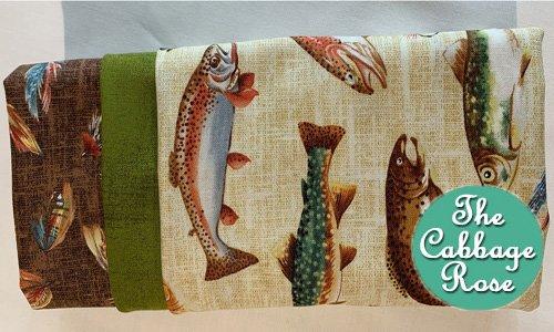 Pillowcase kit - Gone Fishing