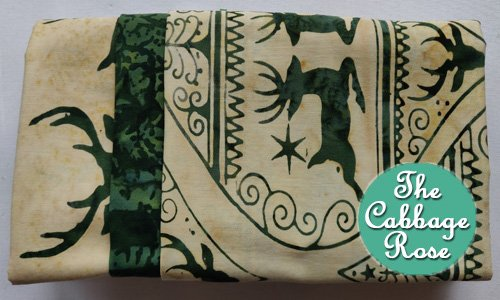 Pillowcase kit - Green Ornament