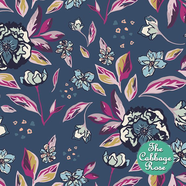 Enchanted Flora Blue