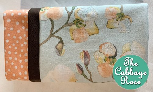 Pillowcase kit - Peach Blossoms