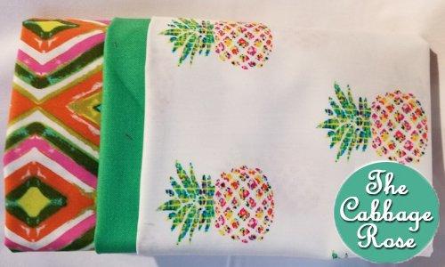 Pillowcase kit - Pineapples