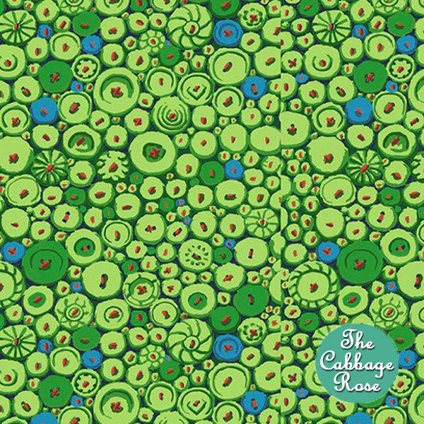 Button Mosaic Green